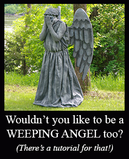 Weeping Angel Costume Tutorial