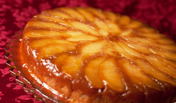 Apple Upside Down Cake Easy Recipe