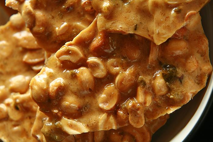 Jalapeno Beer Peanut Brittle