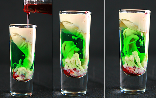 halloween themed shooters - Halloween Themed Alcoholic Shots