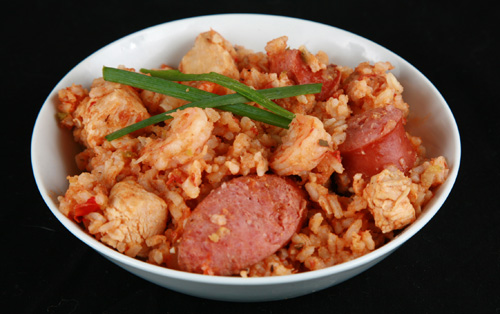 Shrimp And Sausage Jambalaya Recipesbnb