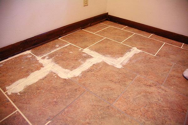 Diy Vinyl Tile Flooring Installation