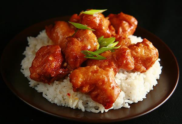 Gluten Free Spicy Orange Chicken | Celebration Generation: Food, Life ...