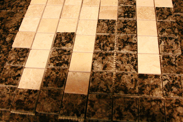 designing a custom tile backsplash