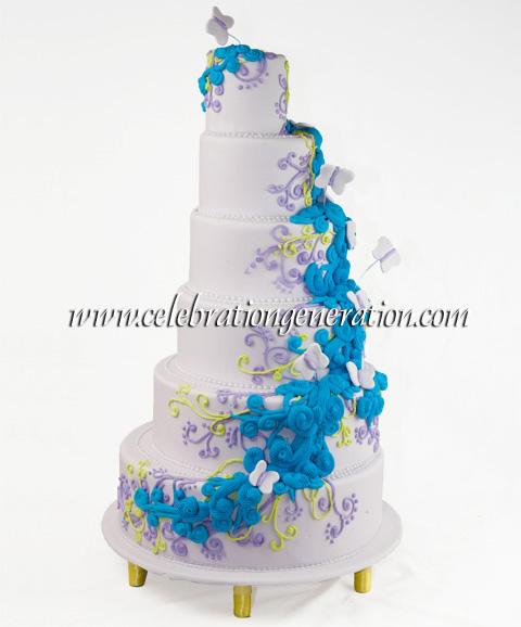 Pride wedding cake