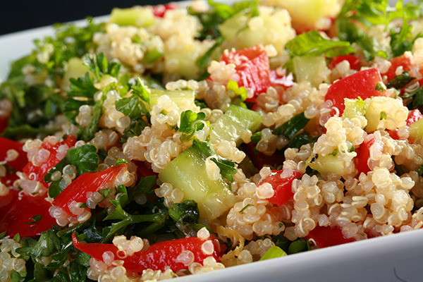 No-Tomato Quinoa Tabbouleh Recipe (Gluten-Free) | Celebration ...