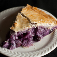 creamy blueberry amaretto pie recipe