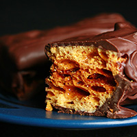 Homemade Crunchie Bars