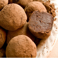 basic dark chocolate truffles recipe