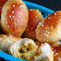 Jalapeno Popper Stuffed Pretzels