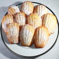 limoncello madeleines cookies