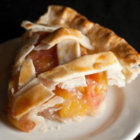 Southern Comfort Peach Pie