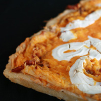 Perogie Pizza