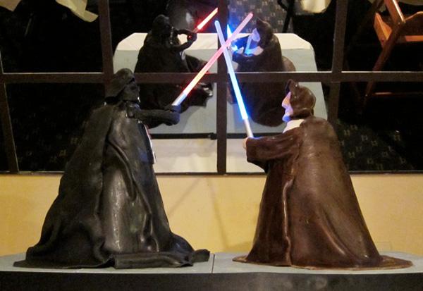 Star Wars Duel Cake