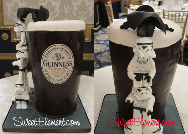 Star Wars Guinness Cake