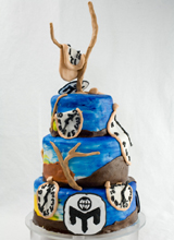 Dali Persistence of Memory Cake