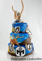 Salvador Dali Mensa Event Cake