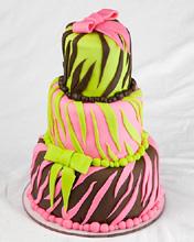 Diva Wedding Cake