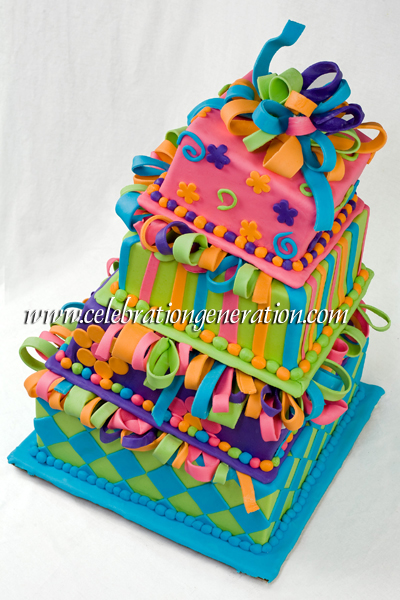 Funky Wedding Cakes