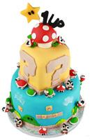 Super Mario Brothers Anniversary Cake