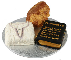 Nigerian Baptism Cake