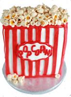 Popcorn Groom's Cake