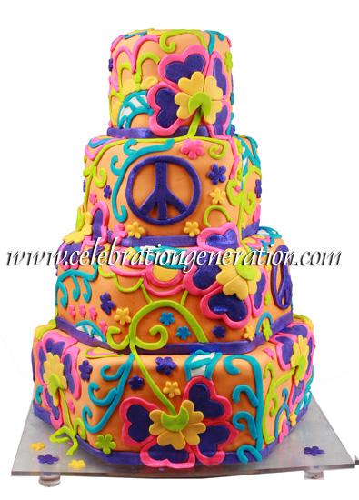 Funky Wedding Cakes
