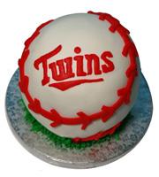 MN Twins Baseball Cake