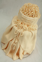 Designer Gown Wedding Cake