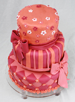 Girlie Wedding Cake