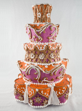 Margaret Braun Style Wedding Cake