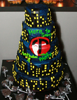 Nightclub promoter's birthday Cake